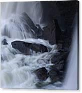 Waterfall Motion Canvas Print