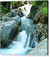 Waterfall Near Paradise Canvas Print