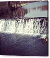#waterfall #newyork #water #nature Canvas Print
