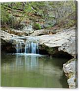 Waterfall On Piney Creek Canvas Print