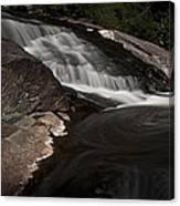 Waterfall Panoramic Canvas Print