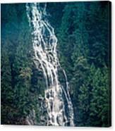 Waterfall Princess Louisa Inlet Canvas Print