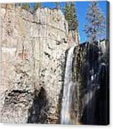 Waterfall Rainbow Canvas Print