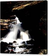 Waterfall- Viator's Agonism Canvas Print
