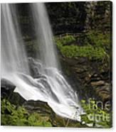 Waterfalls At Base Canvas Print