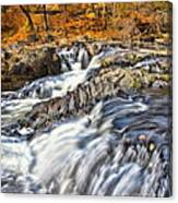 Waterfalls At Fishkill Creek Canvas Print