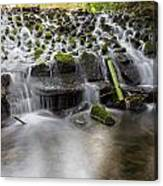 Waterfalls In Marlay Park Canvas Print