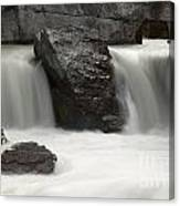 Waterfalls On Nigel Creek Canvas Print