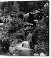 Waterfalls On The Mr J B Van Sciver Estate Canvas Print