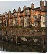Waterfront Apartments Canvas Print