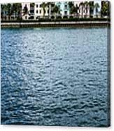 Waterfront Colors Canvas Print