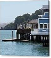 Waterfront Dining Canvas Print