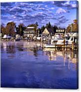 Waterfront Morning Canvas Print