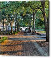 Waterfront Park Canvas Print