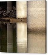 Waterfront Reflections Canvas Print