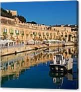 Reflect In Valletta Malta Canvas Print