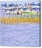 Watergrasses Canvas Print