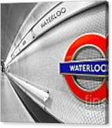 Waterloo Canvas Print