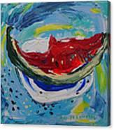 Watermelon. Canvas Print