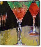 Watermelon Martini Canvas Print