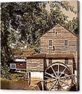 Watermill Two Canvas Print