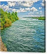 Waters Feeding Niagara Falls Canvas Print