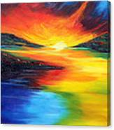 Waters Of Home Canvas Print