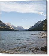 Waterton Lake Canvas Print