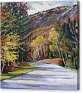 Waterville Road New Hampshire Canvas Print