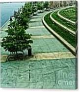 Waterwalk Project Canvas Print