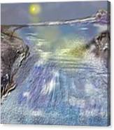 Waterway Rush Canvas Print