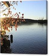 Waterways River View Canvas Print
