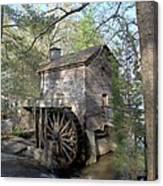 Waterwheel At Stone Mountain Canvas Print
