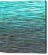 Watery Deep Canvas Print