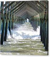 Watery Vision Canvas Print