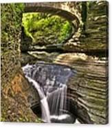 Watkins Glen Waterfalls Canvas Print