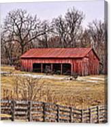 Watkins Mill Barn Canvas Print