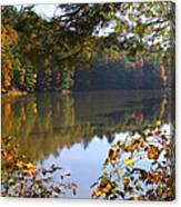 Watoga Lake Scene 1 Canvas Print