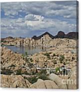 Watson Lake Arizona Canvas Print