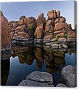 Watson Lake Arizona Reflections Canvas Print