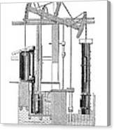 Watts Steam Engine, 1769 Canvas Print