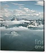 Watzmann Hochkalter Reiter Alpe Canvas Print