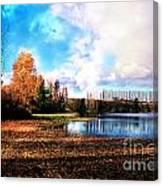 Waughop Lake Canvas Print