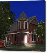 Waurika Presbyterian Church Canvas Print