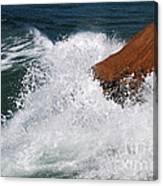 Wave Action Florianopolis Canvas Print