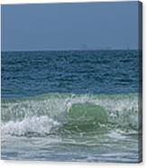 Wave At Seal Beach Canvas Print