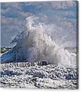 Wave Blow Canvas Print