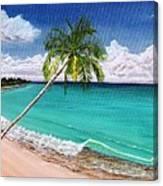 Wave Break Beach Canvas Print