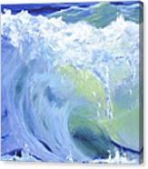 Wave Crest Canvas Print