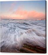 Wave On Wave Canvas Print